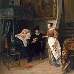 Jan Steen - The Doctor's Visit, Mauritshuis