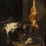 Abraham van Beyeren - Still Life with Game and Fowl, Mauritshuis