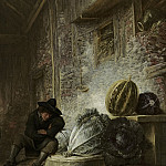 Mauritshuis - Frans Ryckhals - Boy Sleeping in a Shed