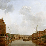 Gerrit Toorenburgh - View of the River Amstel in Amsterdam, Mauritshuis