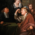 Godfried Schalcken - The Doctor's Examination, Mauritshuis