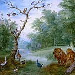 Mauritshuis - Jan Brueghel the Younger (possibly) - Paradise with the Fall of Man