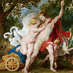 Unknown - Venus Trying to Restrain Adonis from Departing for the Hunt, Mauritshuis
