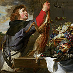Still Life with Huntsman, Frans Snyders