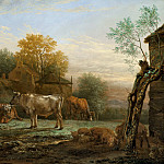 Paulus Potter - Cattle in a Meadow, Mauritshuis