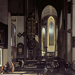 Emanuel de Witte - Interior of an Imaginary Catholic Church, Mauritshuis