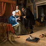 Jan Steen - 'The Sick Girl', Mauritshuis