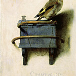 Carel Fabritius - The Goldfinch, Mauritshuis