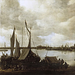 Jan van Goyen - View of the Rhine near Hoog-Elten, Mauritshuis