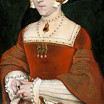 Portrait of Jane Seymour (1509?-1537), Hans The Younger Holbein
