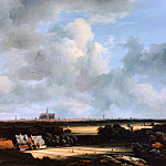 View of Haarlem, Jacob Van Ruisdael