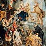 Part 4 - Rubens (1577-1640) - Virgin and Child Enthroned with Saints
