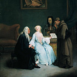 Pietro Longhi - The Music Lesson, Part 4