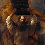 Part 4 - Rembrandt (1606-1669) - Moses with the Ten Commandments