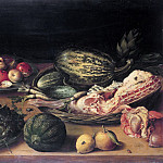 Netherlands - Still Life with Fruit, vegetables and veal, Part 4