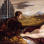 Part 4 - Tizian (1488-90-1576) - Venus with the Organ Player