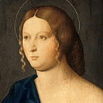Vincenzo di Biagio Catena - Portrait of a young woman as Mary Magdalene, Part 4
