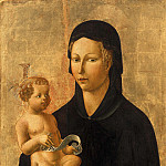Paolo Uccello - Maria with the child, Part 4