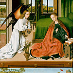 Petrus Christus - Wing of a triptych, Part 4