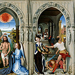 Rogier van der Weyden - The Altar of St. Johns, Part 4