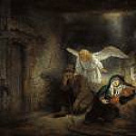 Rembrandt - St. Josephs Dream, Part 4