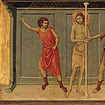 Ugolino di Nerio - The Flagellation of Christ, Part 4