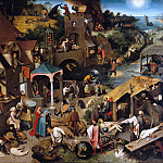 Part 4 - Pieter Bruegel I (c.1525-1569) -The flemish proverbs