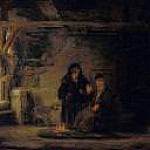 Rembrandt - Tobits Wife with a Goat, Part 4