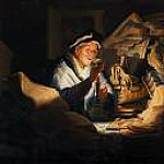 Rembrandt - The rich man from the parable, Part 4