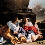 Orazio Gentileschi - Lot and his daughter, Part 4