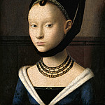 Part 4 - Petrus Christus (c.1410-c.1475) - Portrait of a Young Woman