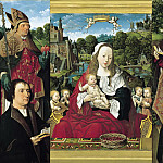 Jacob Cornelisz van Oostsanen - Triptych of Augustine of Teylingen, Part 4