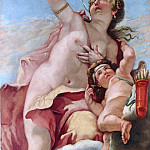 Sebastiano Ricci - The Olympian gods - Venus and Cupid, Part 4