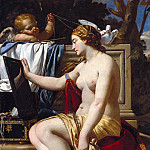 Simon Vouet - The Toilet of Venus, Part 4