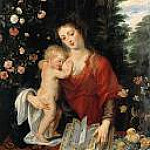 Rubens - Virgin and Child, Part 4