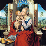 Part 4 - Quentin Massys (1466-1530) - The Virgin Enthroned