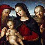 Part 4 - Raffael (1483-1520) - Maria with the blessing Child with Saints Jerome and Francis