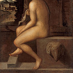 Sebastiano del Piombo – Ceres, sitting on the edge of a fountain, Part 4