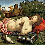 Piero di Cosimo - Venus, Mars and Cupid, Part 4