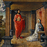 Juan de Flandes - Christ appears to Mary, Part 4