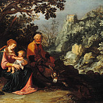 Pieter Lastman - The Rest on the Flight to Egypt, Part 4
