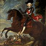 Part 4 - Cardinal-Infante Ferdinand on horseback in the Battle of Noerdlingen, 6 September 1634