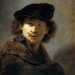 Rembrandt - Self-portrait in a Cap and Fur-trimmed Cloak, Part 4