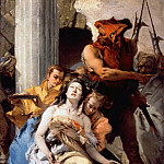 Tiepolo, Giovanni Battista - Martyrdom of St. Agatha, Part 4