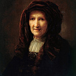 Pieter Verelst - Portrait of an old woman, Part 4