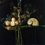 Willem van Aelst - Still Life with Fruit, Part 4