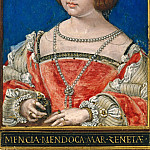 Part 4 - Simon Bening (1484-1561) - Mencia de Mendoza, third wife of Henry III., Count of Nassau