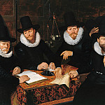 Part 4 - Werner van Valckert (1585-after1627) - Four Regents of Kramergild