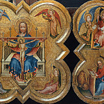 Netherlands - Triptych with the Holy Trinity, Part 4