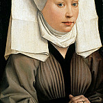 Rogier van der Weyden - Portrait of a Woman, Part 4